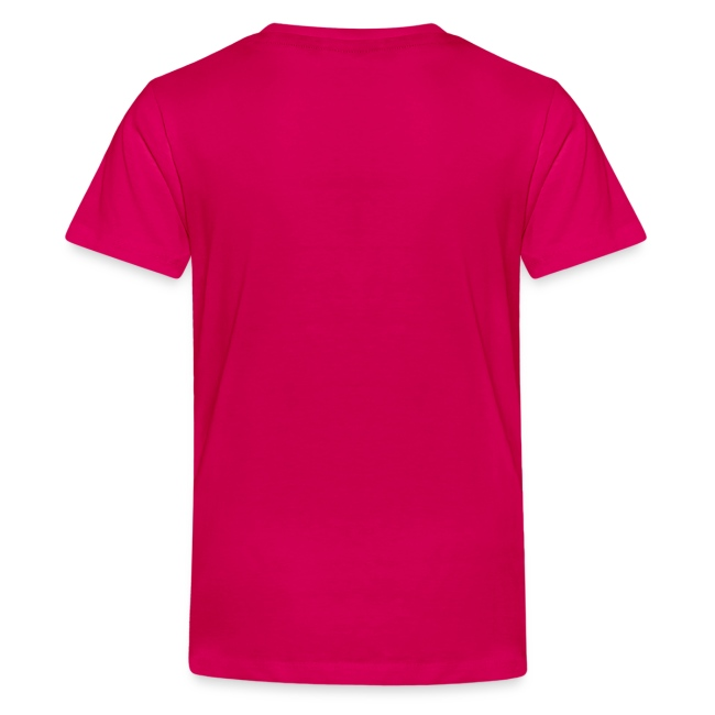 T-shirt unisex ragazzo girocollo scritta bianca iosonoboris