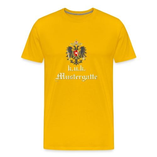 k.u.k. Mustergatte - Männer Premium T-Shirt