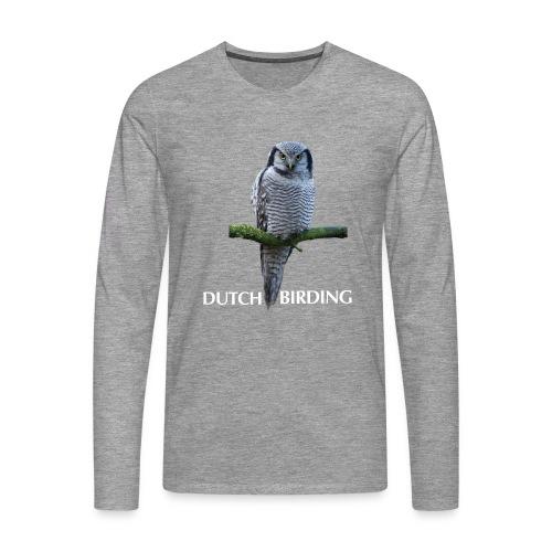 Sperweruil Premium Longsleeve - Mannen Premium shirt met lange mouwen