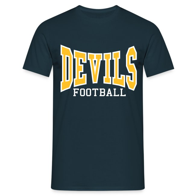 Custom Devils Football T-Shirt