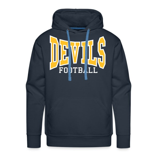 Custom Devils Football Hoodie