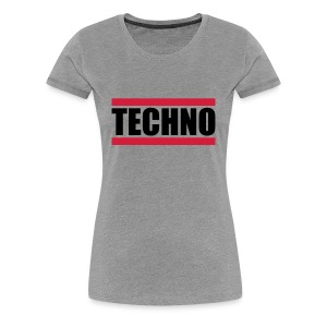 Techno Logo Design T-Shirts - Frauen Premium T-Shirt