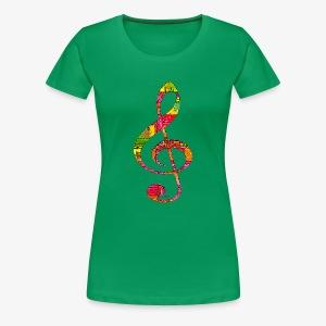 Musique - Women's Premium T-Shirt