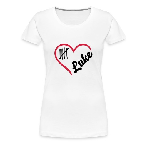 luke heart tee - Women's Premium T-Shirt