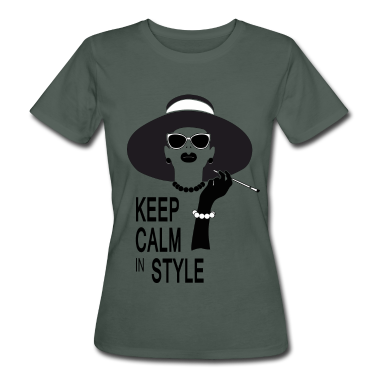 keep calm in style T-Shirts