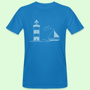 Phare à voile - T-shirt bio Homme