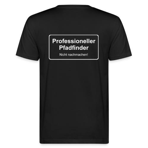 Professioneller Pfadfinder - Männer Bio-T-Shirt