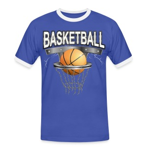 Basketball Sports T-shirt - Männer Kontrast-T-Shirt