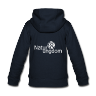 Sweatshirts ~ Premium hættejakke til børn ~ børnejakke m. logo på ryggen
