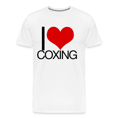 I Love Coxing - Men's Premium T-Shirt
