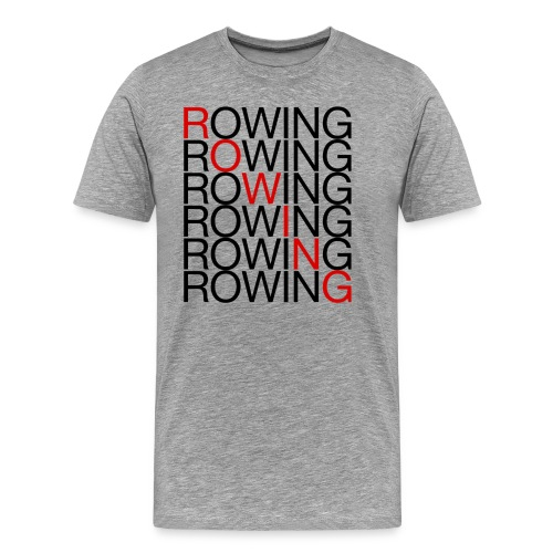Rowing x7 - Men's Premium T-Shirt