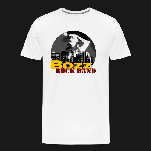 Männer Premium T-Shirt - ohne Aufdruck hinten