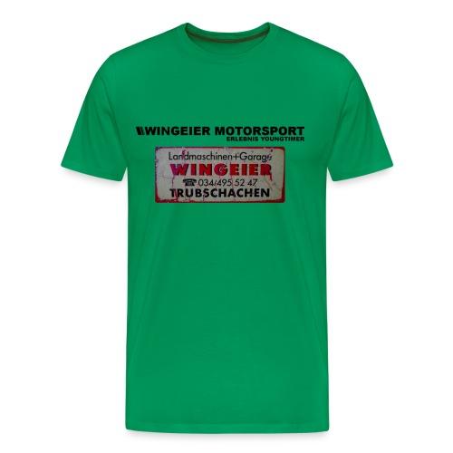RETRO-SHIRT by WINGEIER MOTORSPORT - Benzin im Blut seit 1950 - Männer Premium T-Shirt