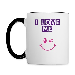 love me cup woman - Tasse bicolore