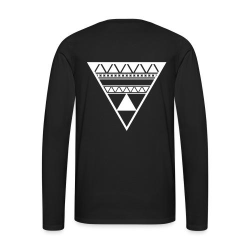 Dj Swag trøje - Herre premium T-shirt med lange ærmer