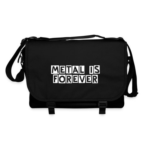 Sac Metal is Forever - Sac à bandoulière