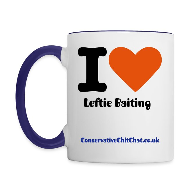 Leftie Baiting Mug
