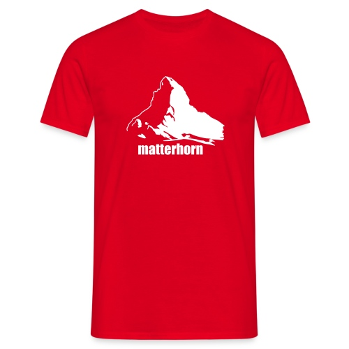 matterhorn - Schweiz - Cervino - Männer T-Shirt