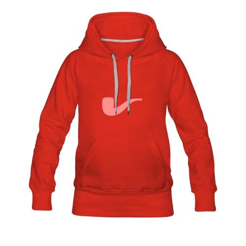 Slanted – Art Type / Hoodie Red Rose / Woman - Frauen Premium Hoodie