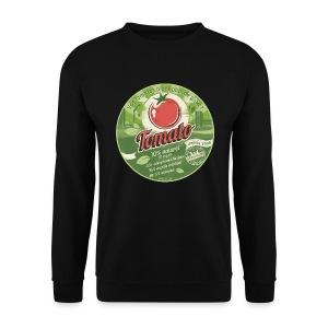 SWEAT homme europabio tomato - Sweat-shirt Homme