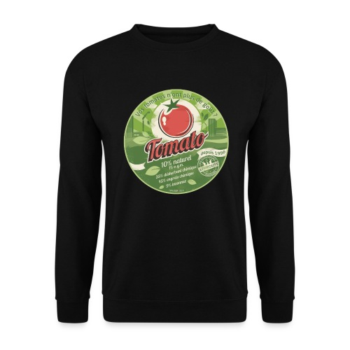 SWEAT homme europabio tomato - Sweat-shirt Homme
