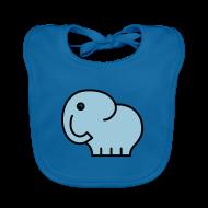 Baby Lätzchen ~ Baby Bio-Lätzchen ~ elefant