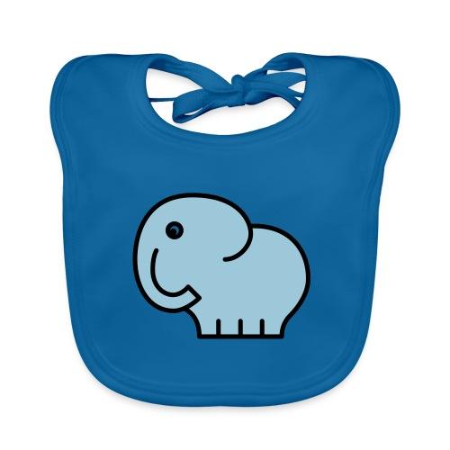elefant - Baby Bio-Lätzchen