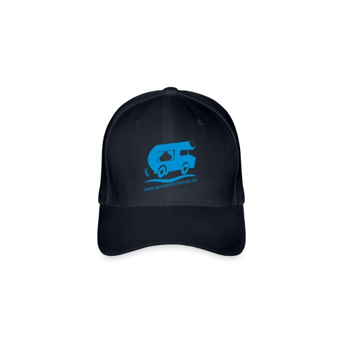 Premium Kappe mit deinem Namen hinten - Flexfit Baseballkappe