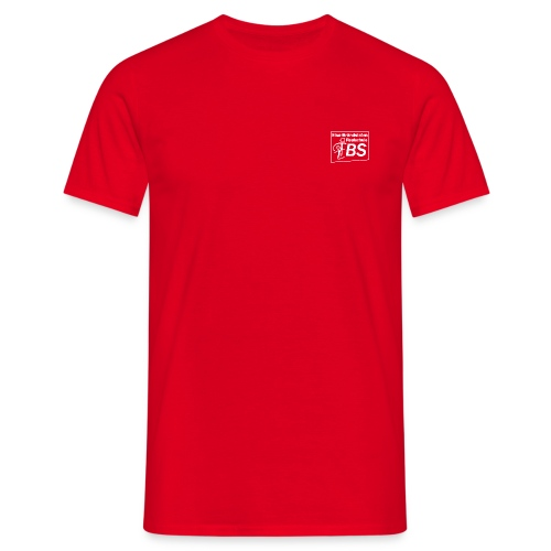 EBS T-Shirt rot (Männer) - Männer T-Shirt