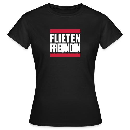 Flieten Freunde Trier shirt für Damen  - Frauen T-Shirt