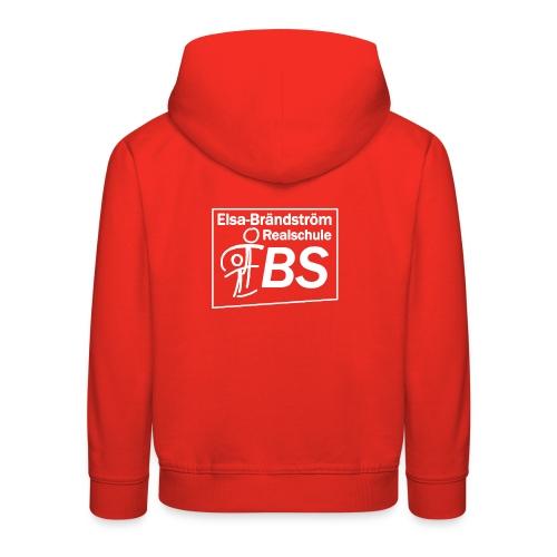 EBS Kapuzenpullover rot (Kinder) - Kinder Premium Hoodie