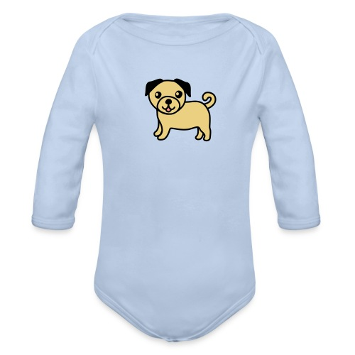 Pug Puppy side