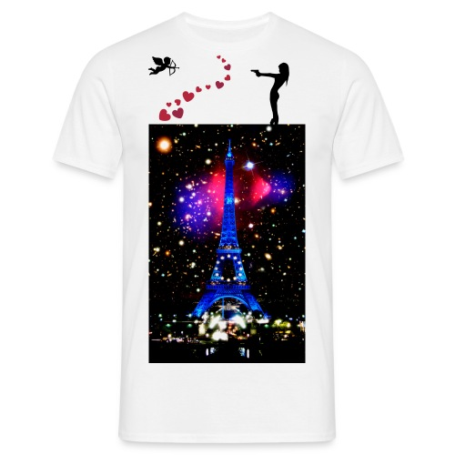 Tee shirt Homme: Paris Sexy Love - T-shirt Homme