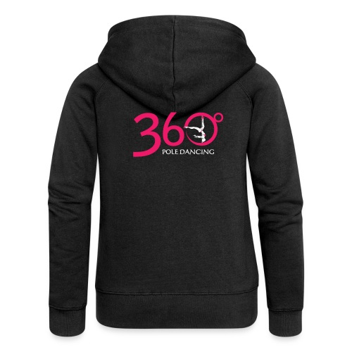 Plain Black Hood Jacket - Women's Premium Hooded Jacket