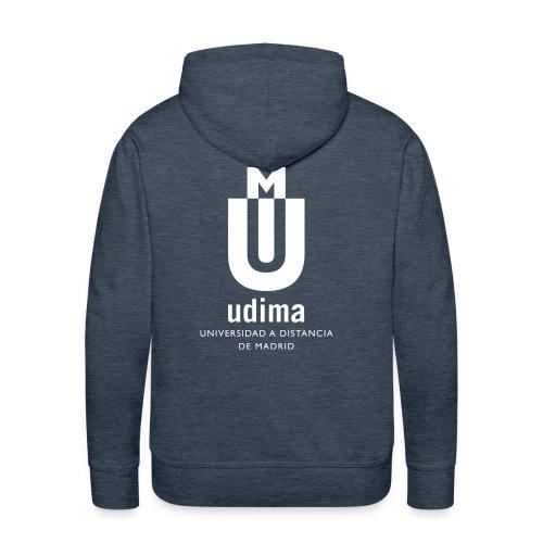 Sudadera con capucha hombre- Udima - Sudadera con capucha premium para hombre