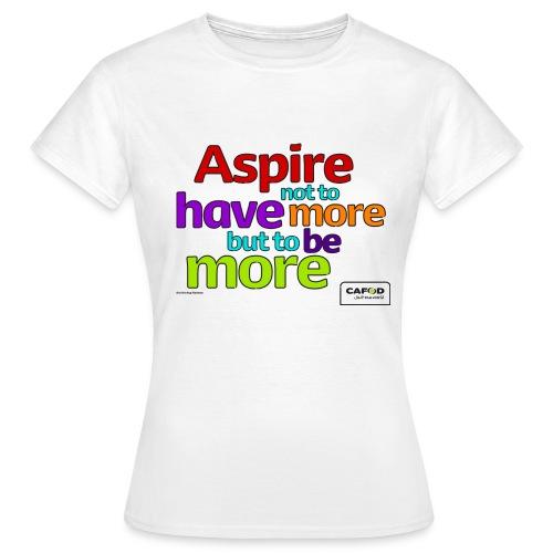 Women's Aspire T-shirt - Women's T-Shirt