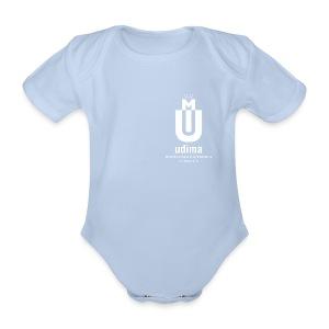 Body bebé verde- UDIMA - Body orgánico de maga corta para bebé