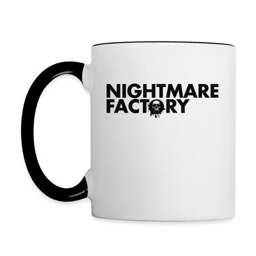 Nightmare Factory Records Cup - Contrasting Mug