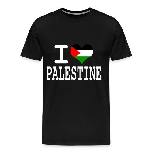I Love Palestine - Mannen Premium T-shirt