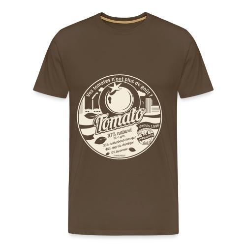 T-SHIRT premium homme europabio tomato - T-shirt Premium Homme