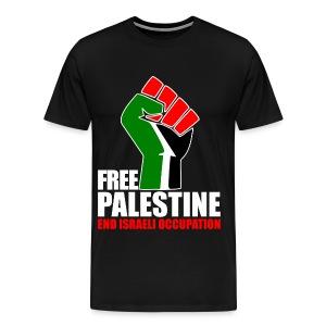 Free Palestina - Mannen Premium T-shirt