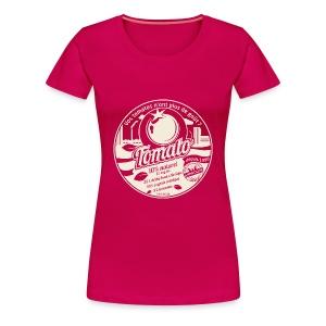 T-SHIRT premium femme europabio tomato - T-shirt Premium Femme