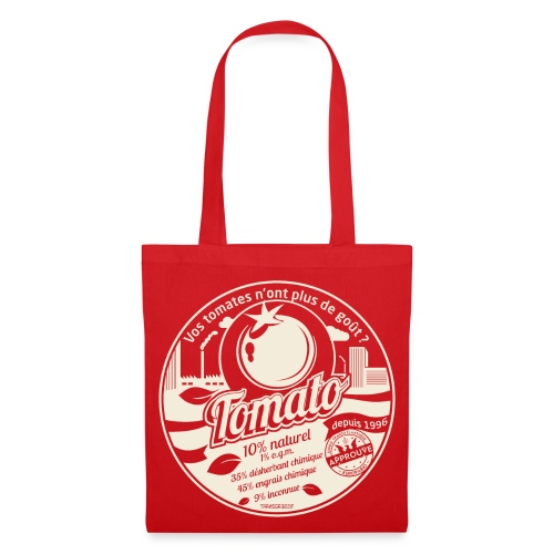 SAC EN TISSU europabio tomato - Tote Bag