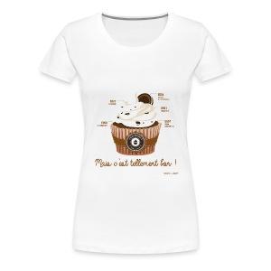 T--SHIRT premium femme cupcake - T-shirt Premium Femme