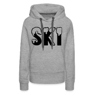 Sweaters ~ Vrouwen Premium hoodie ~ SKI
