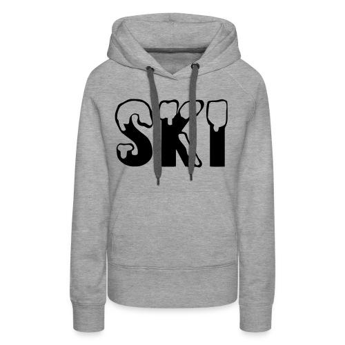 SKI - Vrouwen Premium hoodie