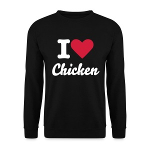 I LOVE CHICKEN - Men's Sweatshirt