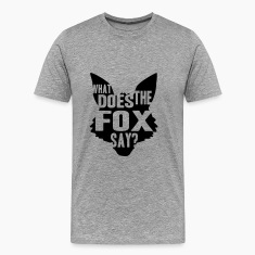 What Does The Fox Say Logo Design T-shirts