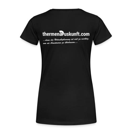 Frauen-Shirt Urlaubsplanung ist zu wichtig... - Frauen Premium T-Shirt