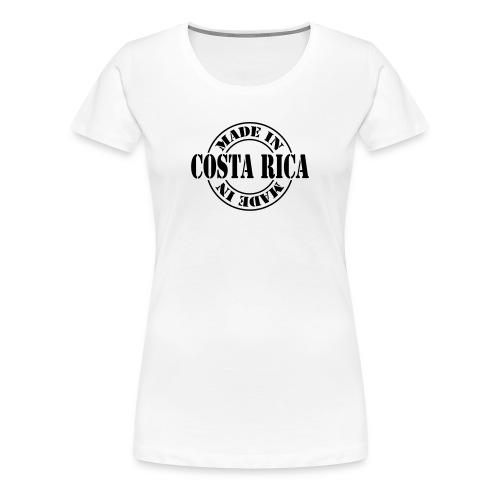 Made in Costa Rica m1 - Maglietta Premium da donna